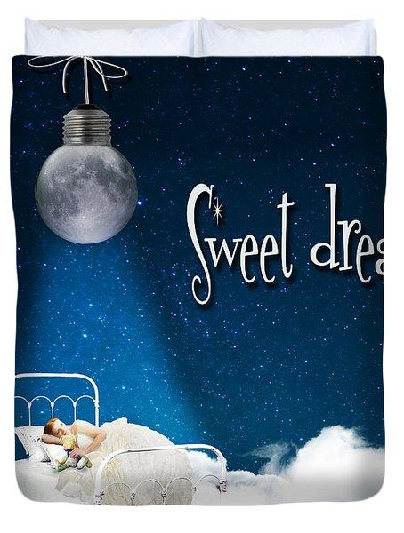 Sweet Dreams Duvet Cover by Juli Scalzi