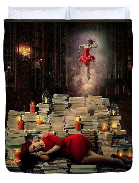Sweet Dreams Duvet Cover by Linda Lees