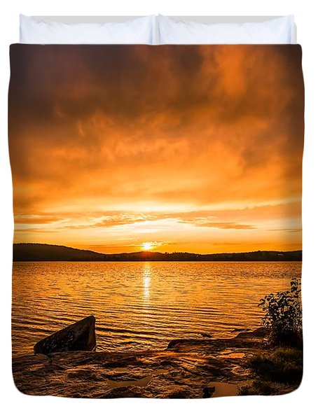 Duvet Cover featuring the photograph Sweet Dreams by Rose-Maries Pictures