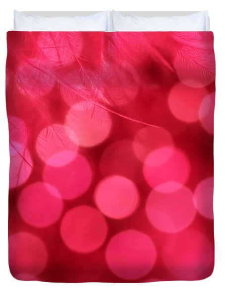 Duvet Cover featuring the photograph Sweet Emotion by Dazzle Zazz