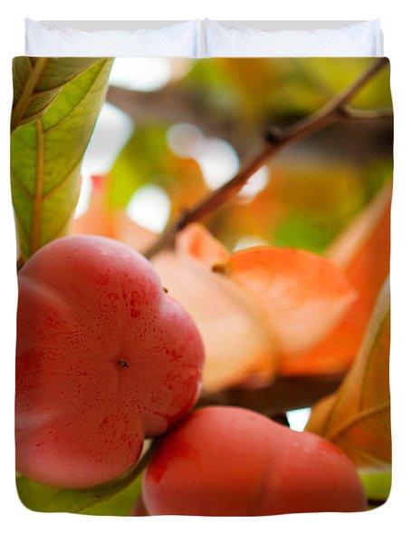 Duvet Cover featuring the photograph Sweet Fruit by Erika Weber