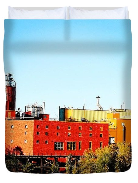 Sweet Genny Duvet Cover by Justin Connor