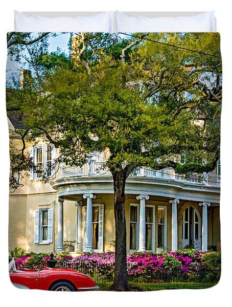 Sweet Home New Orleans 3 Duvet Cover by Steve Harrington