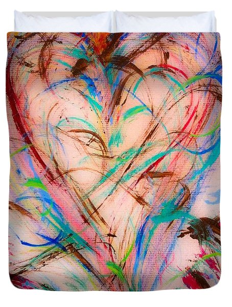 Sweet Love Duvet Cover
