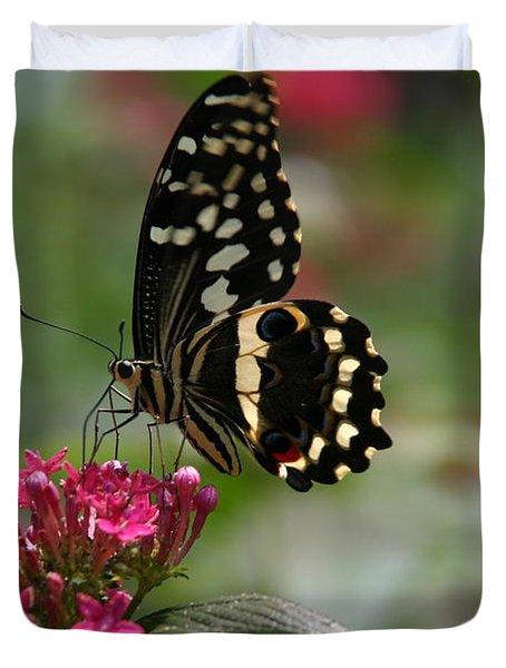 Sweet Nectar Duvet Cover by Denyse Duhaime