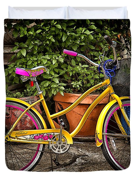 Sweet Ride Duvet Cover