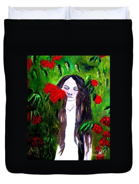 Sweet Smell Of  Flowers Duvet Cover