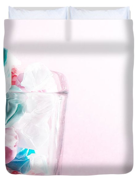 Duvet Cover featuring the photograph Sweetness by Lisa Knechtel