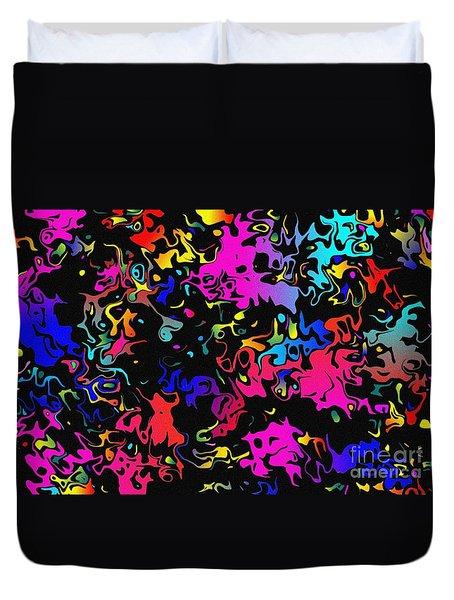 Swirl Duvet Cover by Mark Blauhoefer
