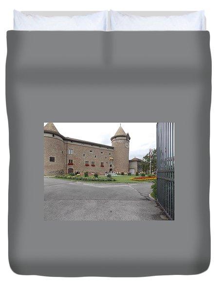 Swiss Castle Duvet Cover