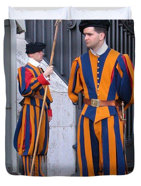 Swiss Guard Duvet Cover