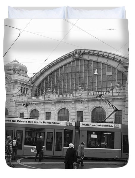 Swiss Railway Station Duvet Cover