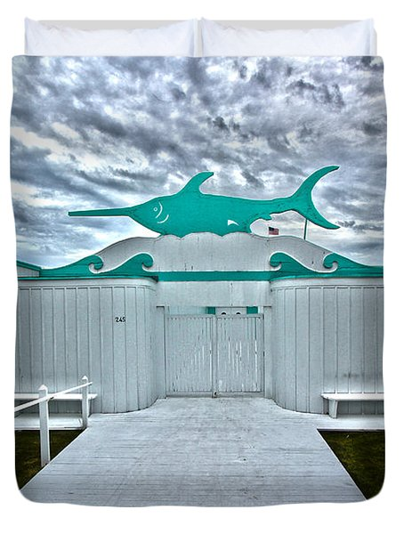 Swordfish Beach Club I Duvet Cover