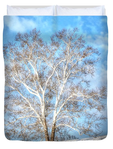 Sycamore Winter Duvet Cover
