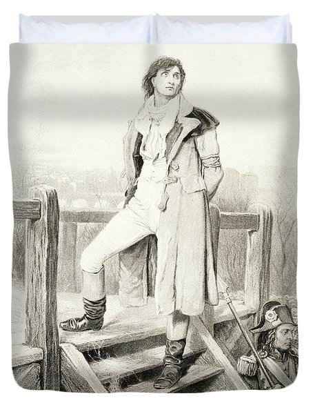 Sydney Carton, From Charles Dickens A Duvet Cover