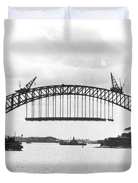 Sydney Harbour Bridge Duvet Cover