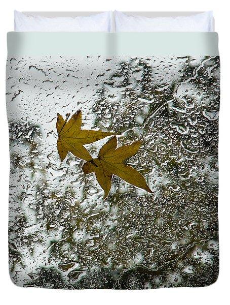 Symbols Of Autumn  Duvet Cover
