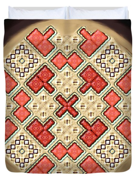Symmetrica 311 Duvet Cover by Nedunseralathan R