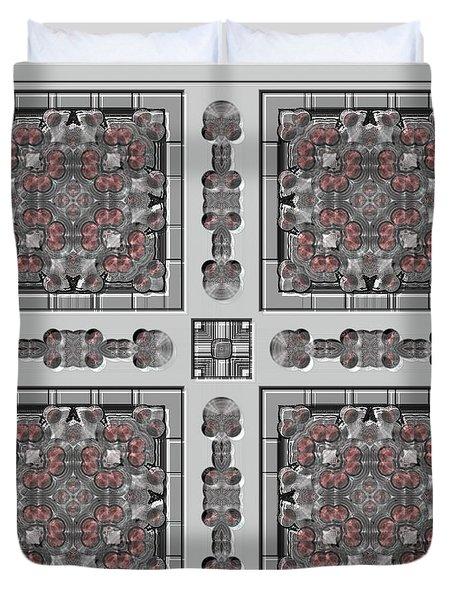 Symmetrica 313 Duvet Cover by Nedunseralathan R