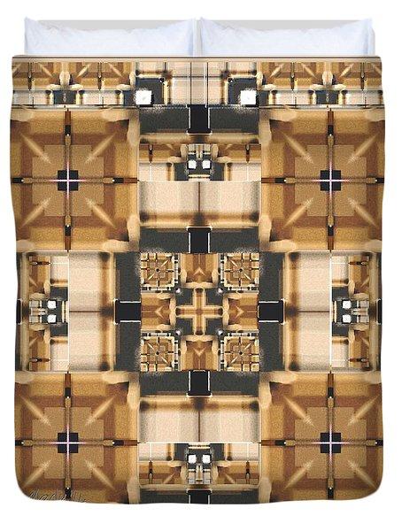 Symmetrica 315 Duvet Cover by Nedunseralathan R