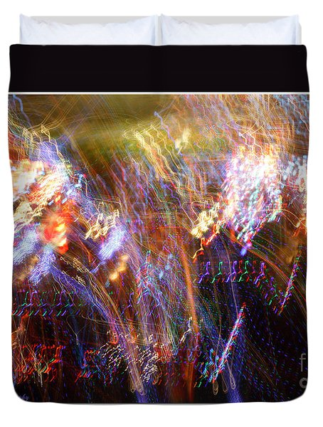 Symphonic Light Abstraction  Duvet Cover by Chris Anderson