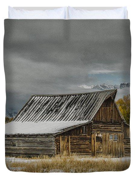 T. A. Moulton's Barn Duvet Cover