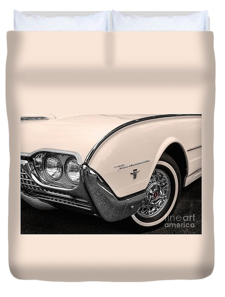 T-bird Fender Duvet Cover