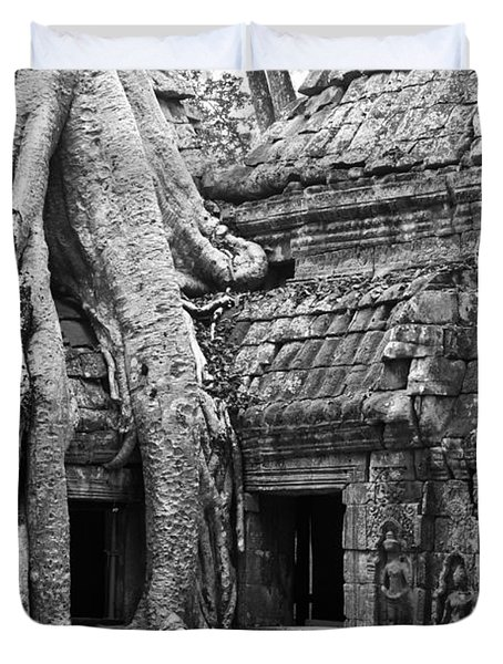 Ta Prohm Roots And Stone 01 Duvet Cover