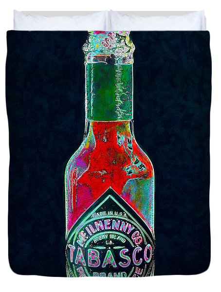 Tabasco Sauce 20130402 Duvet Cover