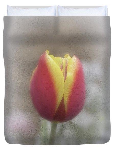 Duvet Cover featuring the photograph Tabitha by Elaine Teague