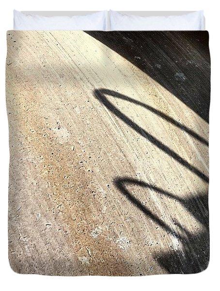 Heavy Wheel Duvet Cover by Jason Michael Roust