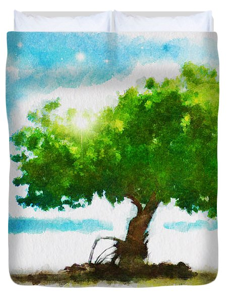 Summer Magic Duvet Cover