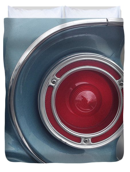 Tail Light Ford Falcon 1961 Duvet Cover by Don Spenner