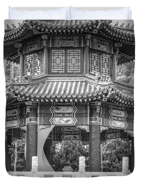 Taiwan Gazebo Duvet Cover