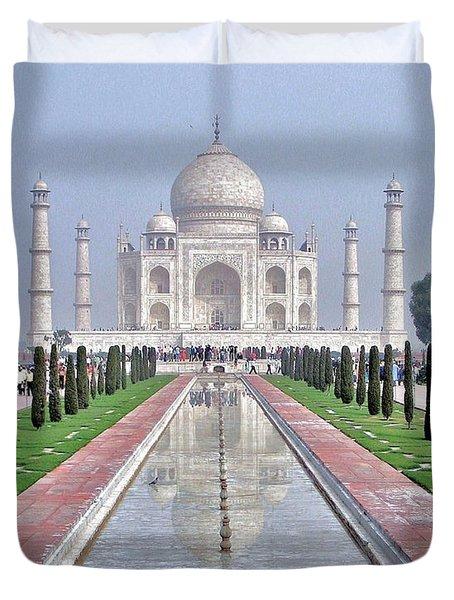 Taj Mahal Duvet Cover by Kim Bemis