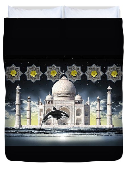 Taj Duvet Cover by Scott Ross