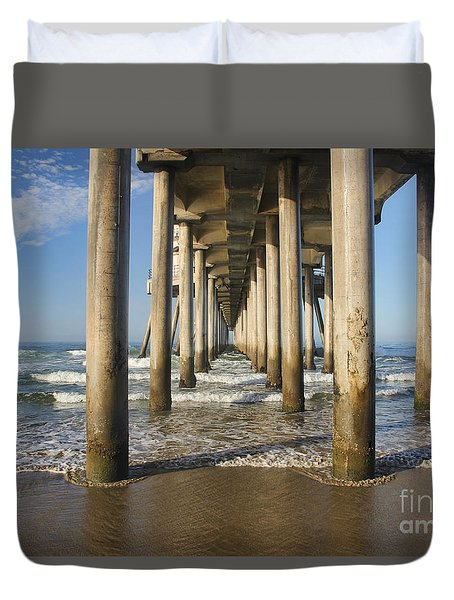 Take A Break Duvet Cover by Tammy Espino