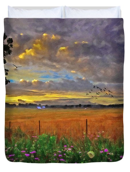 Take Me Home Duvet Cover by Lianne Schneider