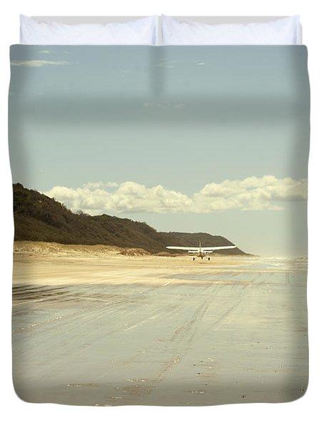 Take Off Duvet Cover by Linda Lees