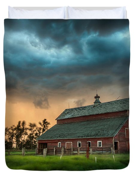Take Shelter Duvet Cover