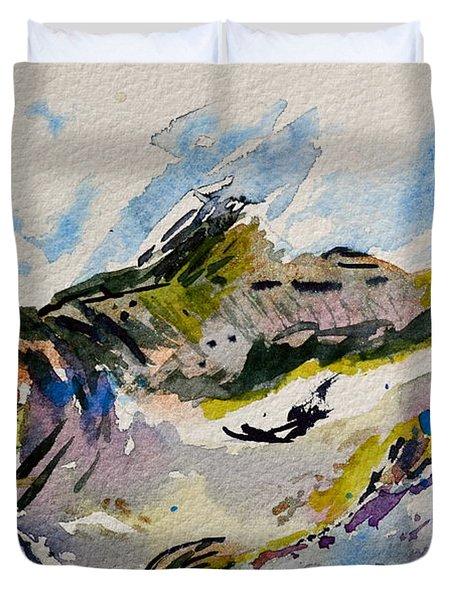 Take The Bait Duvet Cover by Beverley Harper Tinsley