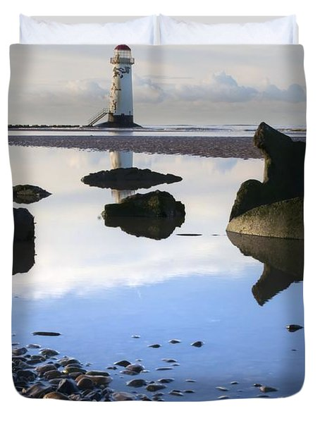 Talacer Abandoned Lighthouse Duvet Cover