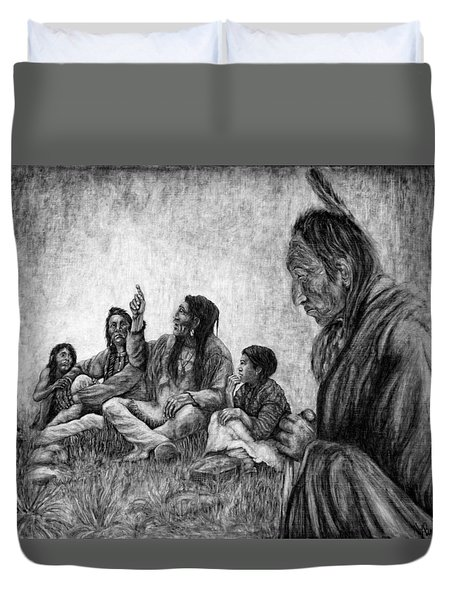 Tales Passed On Duvet Cover