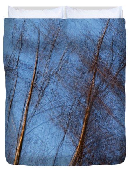 Talking Trees Duvet Cover
