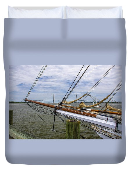 Spirit Of South Carolina Dreaming Duvet Cover by Dale Powell