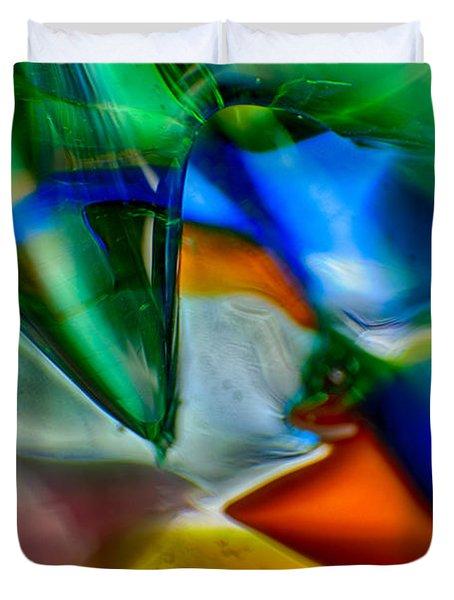 Talons Verde Duvet Cover by Omaste Witkowski
