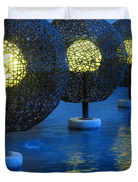 Tamarindo Reflections Duvet Cover