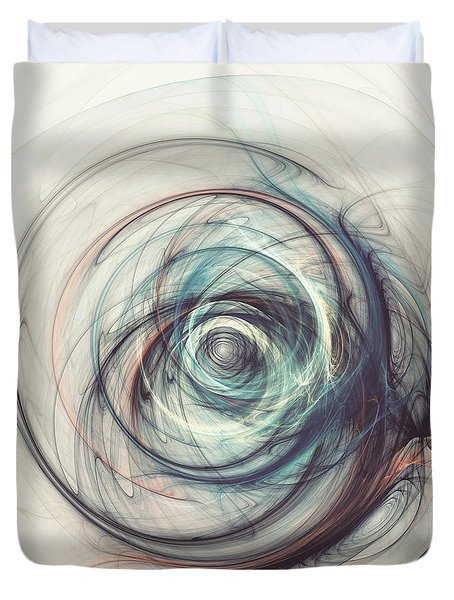 Tamed Power Duvet Cover by Martin Capek