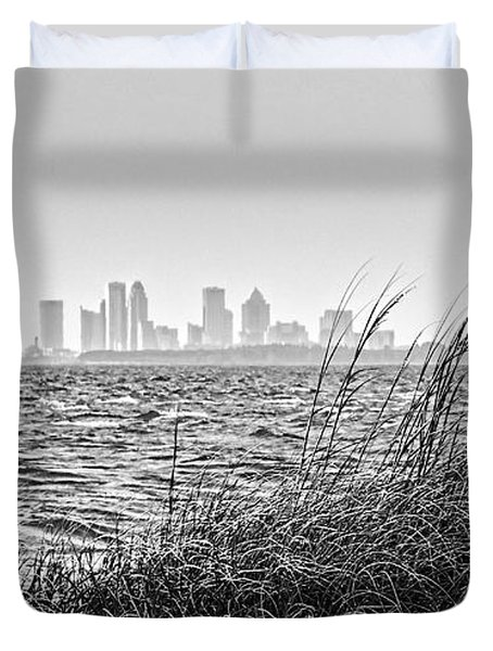 Tampa Across The Bay Duvet Cover