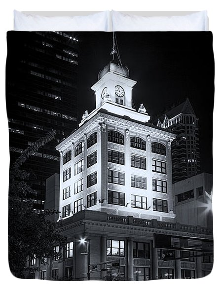 Tampa's Old City Hall Duvet Cover